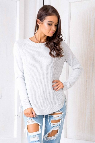 Melbourne Jumper - Grey