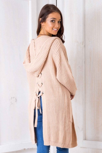 Limelight Cardigan - Beige