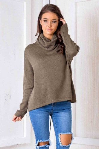 Night Fever Jumper - Khaki
