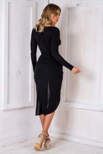 Dominate Dress - Black