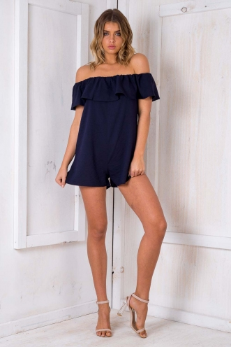 Little Navy Playsuit