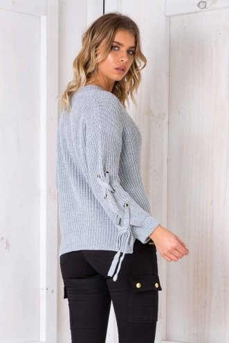 Lazy Days Jumper - Grey