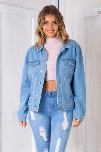 Cali Oversized Denim Jacket