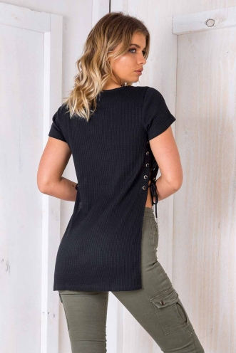 Night Walker Top - Black