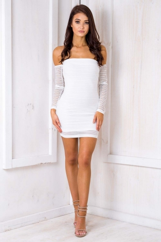 Ohia Dress -White