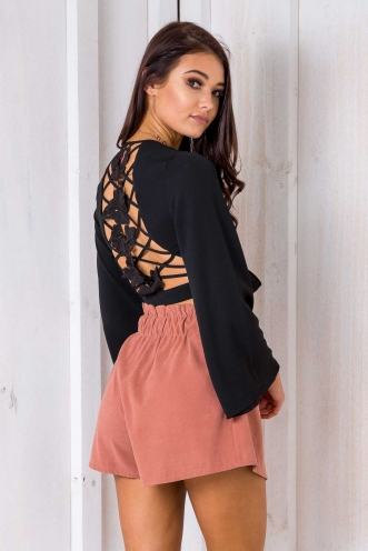 Kealee Top- Black