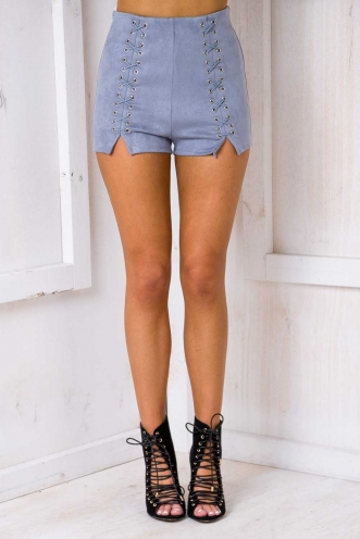 London Calling Shorts- Grey