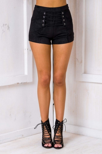 Code Muscle Shorts - Black