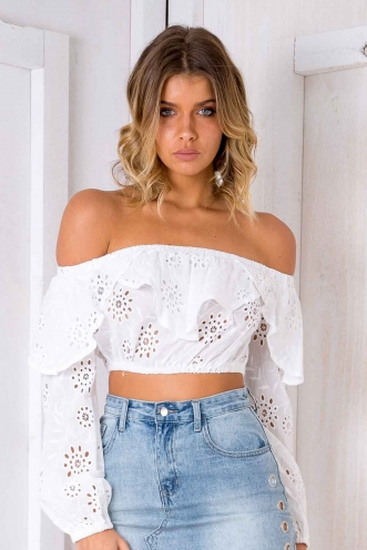 Cojito Top - White