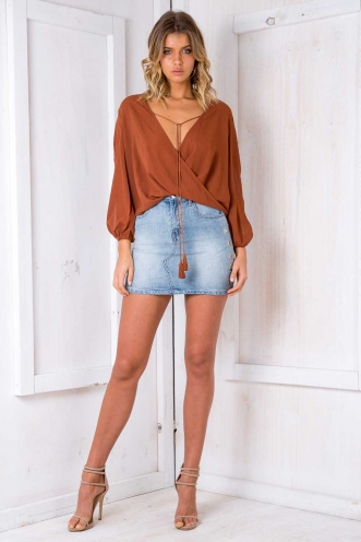 Daiquiri Top - Brown