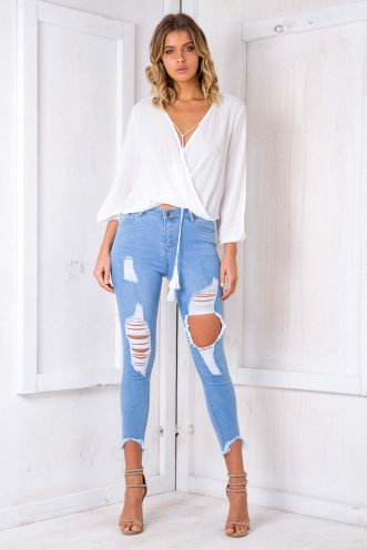 Daiquiri Top - White