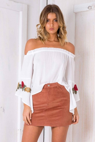 Leia Top - White