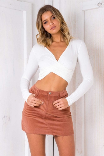 Albany Top- White