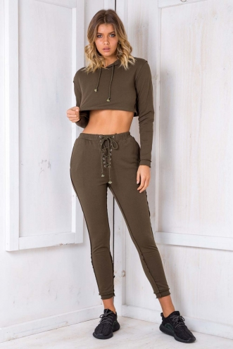 Irreplaceable Trackies - Khaki