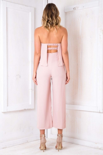 Miley Jumpsuit- Dusty Pink