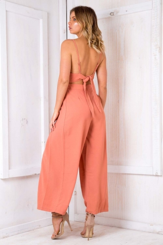 Mojito Jumpsuit - Burnt Orange
