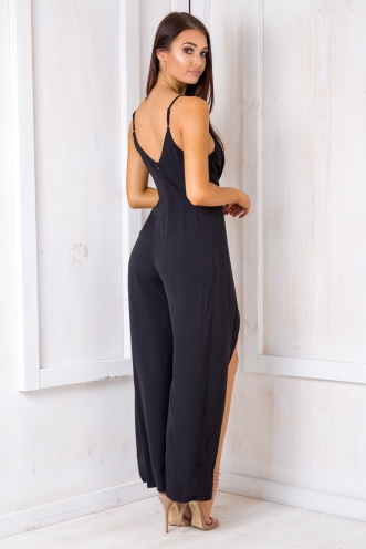 Loving You Jumpsuit - Black