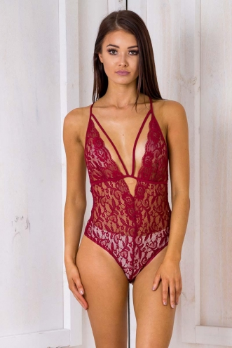 Call Me Maybe Bodysuit - Maroon