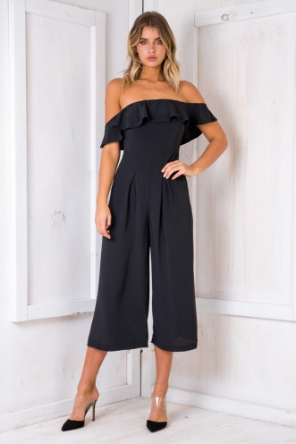 Greece Jumpsuit - Black