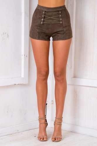 Code Muscle Shorts - Dark Khaki