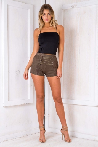 Smooth Like Butter Crop - Black