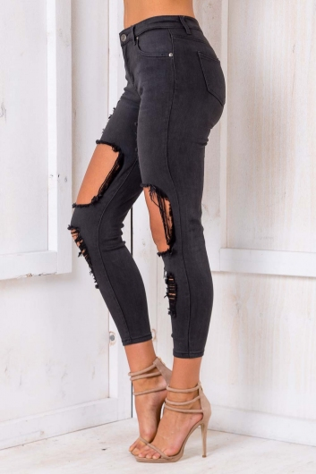 Bite Me! Jeans - Black Denim
