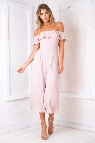 Greece Jumpsuit - Blush