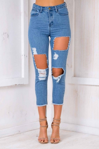 Danny Boy Jeans - Blue Denim
