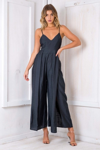 Clootie Jumpsuit - Black