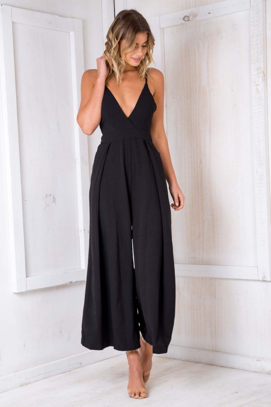0305f89e284 Mojito Jumpsuit - Black-SALE - Stelly