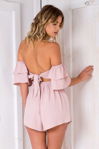 Joffre Cake Playsuit - Blush