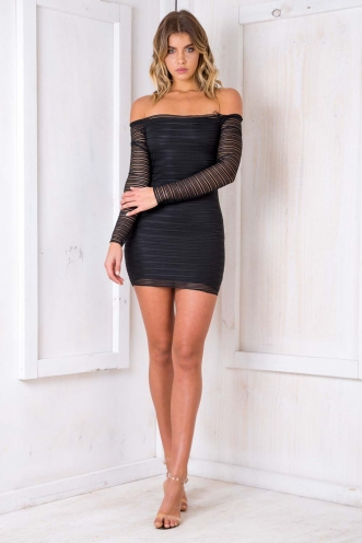 Chocolate Crackle Dress - Black