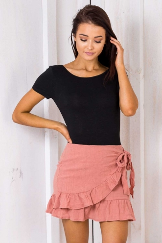 Coconut Cake Skirt - Blush