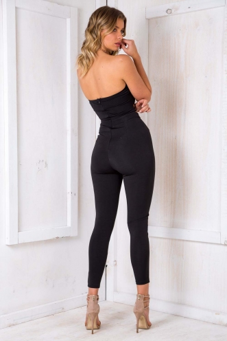 Fondant Fancy Jumpsuit - Black