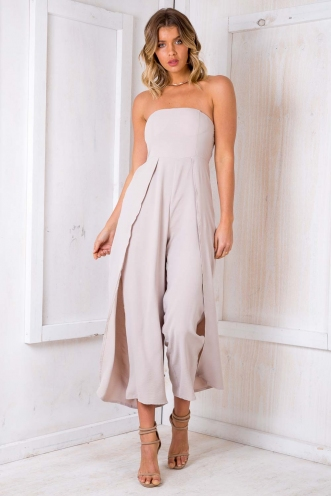 Dacquoise Jumpsuit - Grey