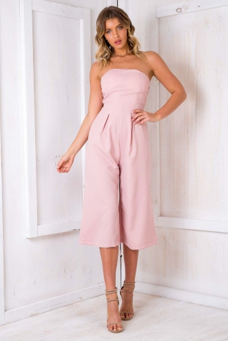Lotus Jumpsuit - Pink
