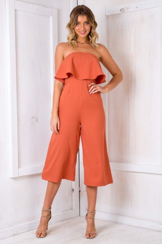 Natalia Jumpsuit - Orange