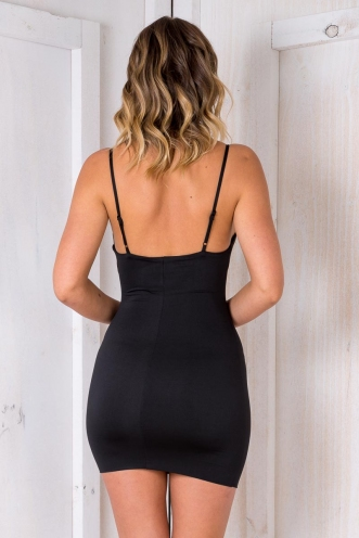 Brazil Nut Cake Dress - Black