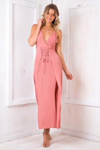 Bibingka Dress - Blush