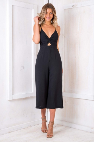 Fairy Cake Jumpsuit - Black