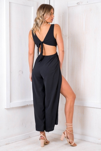 Fat Rascal Jumpsuit - Black