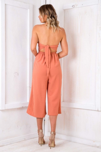 Apple Platz Jumpsuit - Burnt Orange