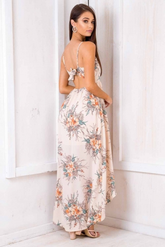 Butter Tablet Dress - Nude Floral
