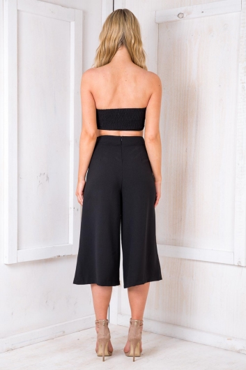 Baklava Crop - Black