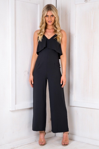Dorset Knobs Jumpsuit - Black