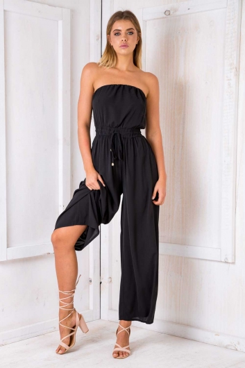 Party nights jumpsuit - Black