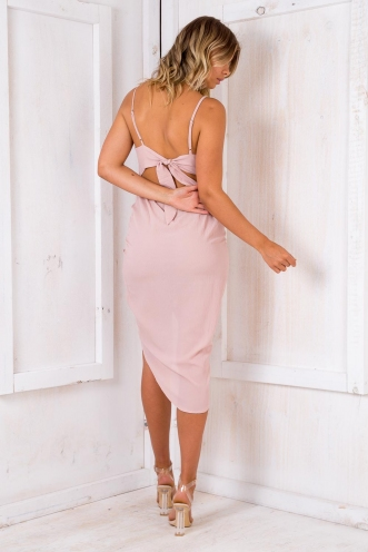 Pomegranate Mousse Cake Dress - Pink