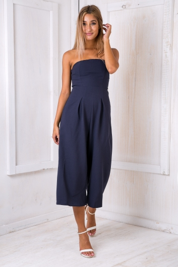 Lotus jumpsuit - Navy
