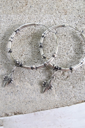 Minc Collections - DayDreamer Hoops - Silver