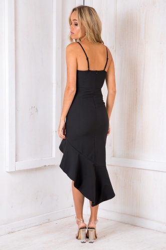 Wizz Fizz Dress - Black